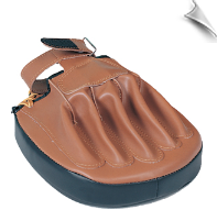 Focus Mitt - Brown Vinyl