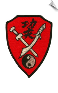 Kung Fu Swords Patch - 5 Pack