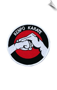 Kenpo Karate Patch - 5 Pack