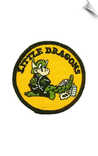 Little Dragons Patch - 5 Pack