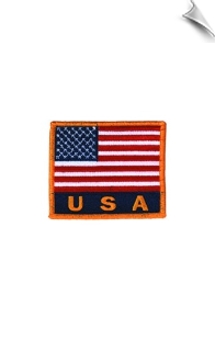 USA Flag Patch - 5 Pack