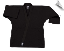 12 oz Heavyweight Karate Jacket - Black