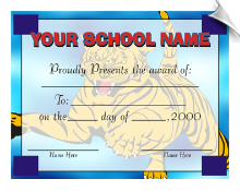 Open-Ended Award Certificate - Pack of 10