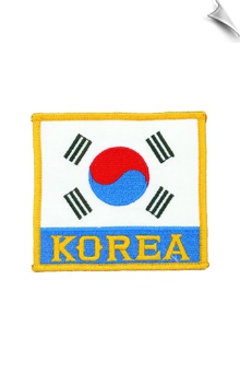 Korean Flag Patch - 5 Pack