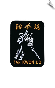 TKD Fighter Patch - 5 Pack