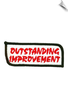 Outstanding Improvement Patch - 5 Pack