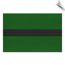 Poly/Cotton Kung Fu Sashes with Black Stripe