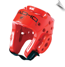 Dyna Head Sparring Headgear - Red
