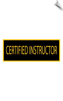 Certitified Instructor Patch - 5 Pack