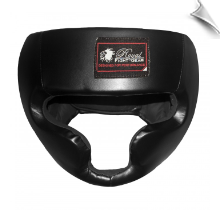 Artificial Leather MMA Headgear - Black