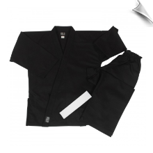 8.5 oz Super-Middleweight Karate Uniform - Black