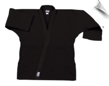 8.5 oz Super-Middleweight Karate Jacket - Black