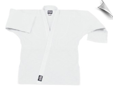 12 oz Heavyweight Karate Jacket - White