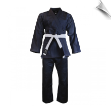 Super-Heavyweight 13 oz Pearl Weave Jiu-Jitsu Uniform - Black