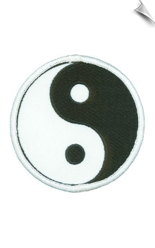 Yin Yang Patch - 5 Pack