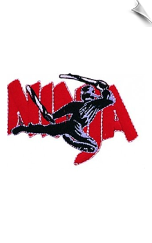 Ninja Fighter Patch - 5 Pack