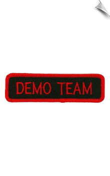 Demo Team Patch - 5 Pack