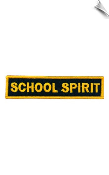 School Spirit Patch - 5 Pack