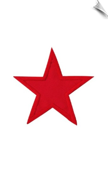 "3"" Star Patch - 5 Pack"