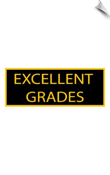 Excellent Grades Patch - 5 Pack