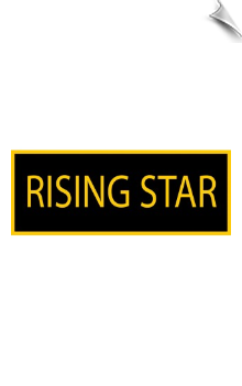 Rising Star Patch - 5 Pack