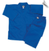 8.5 oz V-Neck Martial Arts Uniform - Blue (SKU: 200-BL)