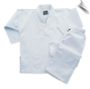 8.5 oz V-Neck Martial Arts Uniform - White (SKU: 200-W)