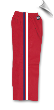 8 oz Middleweight Karate Pants - Red with Red, White & Blue Stripes