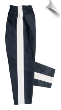 8 oz Middleweight Karate Pants - Black with White Stripe