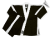8 oz Karate Team Uniform - Black with White