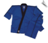 8 oz Karate Team Uniform - Blue with Black