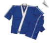 8 oz Karate Team Uniform - Blue with White