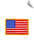 American Flag Patch - 5 Pack
