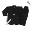7.5 oz Middleweight Tae Kwon Do Uniform - Black (SKU: TKD-B)