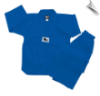 7.5 oz Middleweight Tae Kwon Do Uniform - Blue (SKU: TKD-BL)
