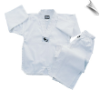 7.5 oz Middleweight Tae Kwon Do Uniform - White (SKU: TKD-W)