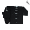8 oz Middleweight Kung Fu Uniform - Black with White (SKU: 1360)