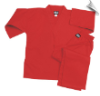 8.5 oz V-Neck Martial Arts Uniform - Red (SKU: 200-R)