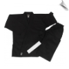 7.5 oz Middleweight Karate Uniform - Black (SKU: 300-B)