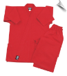 7.5 oz Middleweight Karate Uniform - Red (SKU: 300-R)