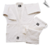 Single Weave Judo/Jiu-Jitsu Uniform - White (SKU: 575-W)