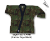 8.5 oz Super-Middleweight Karate Jacket - Camo with Black (SKU: 6300-CAMB)