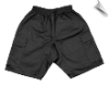 Martial Arts Cargo Shorts - Black