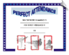 Perfect Attendance Certificate - Pack of 10 (SKU: CER-32)