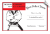 Martial Arts Rank Certificate - Pack of 10 (SKU: CER-44)