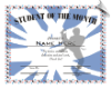 Student of the Month Certificate - Pack of 10 (SKU: CER-5)