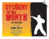 Student of the Month Certificate - Pack of 10 (SKU: CER-66)