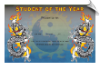 Student of the Year Certificate - Pack of 10 (SKU: CER-72)