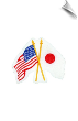 USA/Japan Flag Patch - 5 Pack (SKU: 2167)