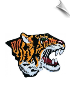 Tiger Head Patch - 5 Pack (SKU: 2208)